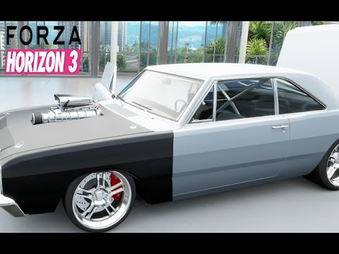 Forza Horizon Part Over Horse Power Muscle Car Holy