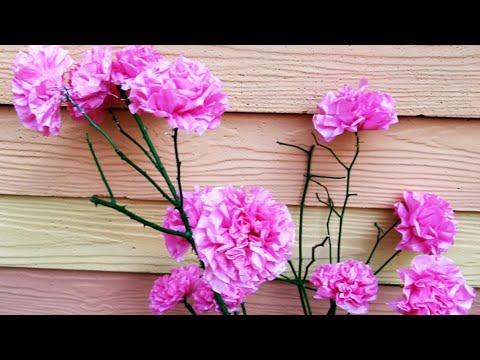 YELLOW ORANGE , DIY CRAFT, TISSUE PAPER FLOWERS, TISSUE PAPER CRAFT, TISSUE PAPER ROSE, CRAFT.