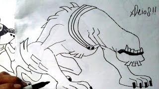 Mira Y Animate a Dibujar al ALIENS 07 de BEN 10 XDEIOS