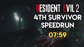 Resident Evil 2 Remake - Hunk Speedrun - 07:59