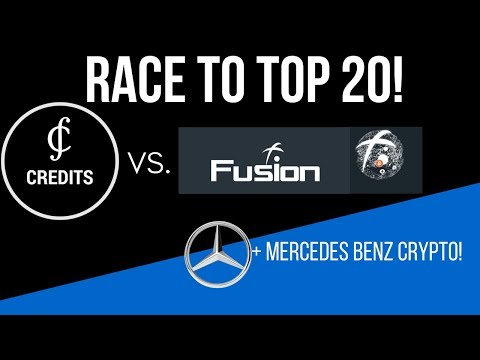 Credits VS Fusion: The RACE to the TOP 20! +Mercedes Benz Crypto!