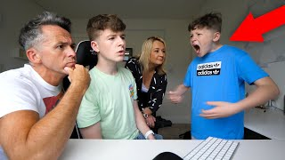 Making EVERYONE Ignore My Little Brother For 24 HOURS! *prank*