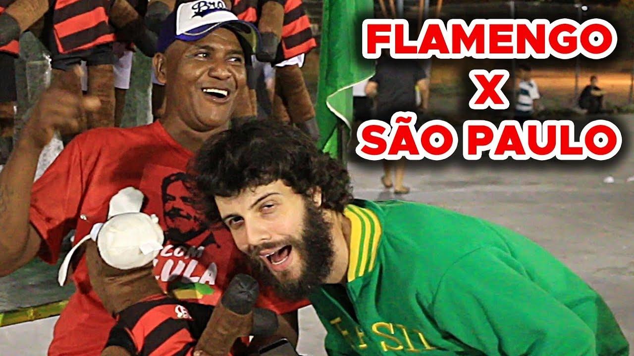 REPÓRTER DOIDÃO   NO MARACANÃ (FLAMENGO X SÃO PAULO) - YouTube