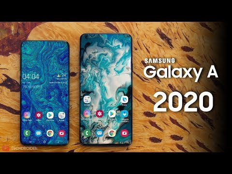Samsung Galaxy A51 A71 A81 Confirmed A Series 2020 Revealed Youtube