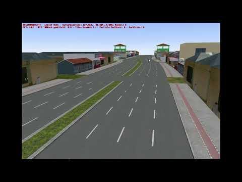 Editando o mapa de são paulo #1 colocando poste nas avenidas