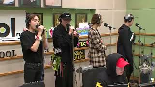 10042018 WINNER 'HELLO'  and  Kang Seung-yun 'You are the luxury'  Live @ Lee Hong Ki Kiss The Radio