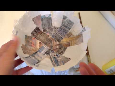 How To Make Paper Mache Bowl