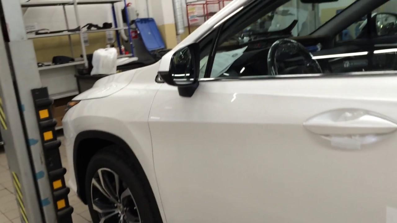 Тюнинг LEXUS RX350. Установка SlamStop(СламСтоп). Автомобильный Доводчик Двери LEXUS RX350 СПб