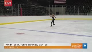 Get top notch figure skating coaching in Leesburg