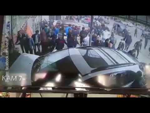 Таджикистан: Lexus наехал на толпу людей