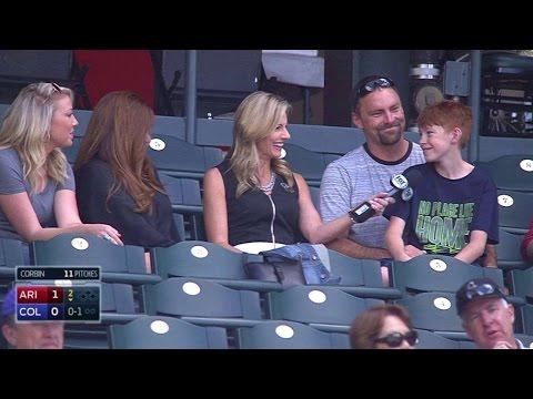 ARI@COL: Drury family on Brandon making big leagues