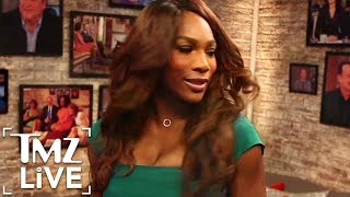 Serena williams is back to partying!   tmz live