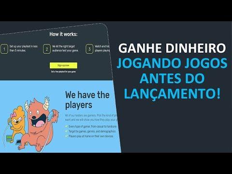 Ganhe Dinheiro Jogando Jogos antes do Lançamento!