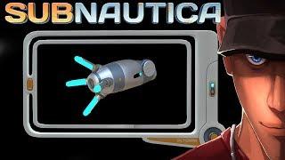 Subnautica Propulsion Cannon Blueprint Location GU DE  Lets Play Subnautica Gameplay