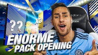 ON PACK 3 TOTS LIGA DANS LE MÊME PACK OPENING !!! FIFA 18 TOTS PACK OPENING
