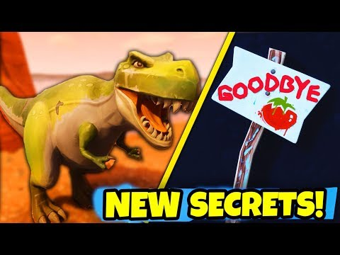 NEW SEASON 5 EASTER EGGS & SECRETS in Fortnite: Battle Royale! (SEASON 5 MAP CHANGES & SECRETS)