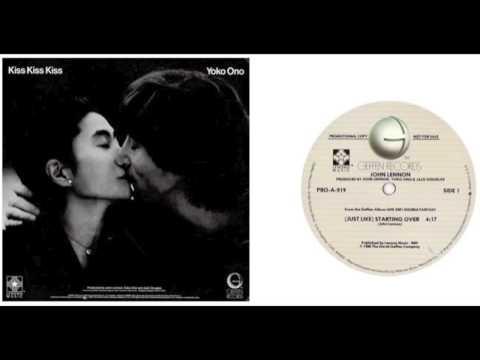 """John Lennon """"(Just Like) Starting Over"""" US Promo 12"""" Extended Mix"""