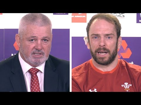 Wales v Scotland - Warren Gatland & Alun Wyn Jones Post Match Press Conference - Six Nations