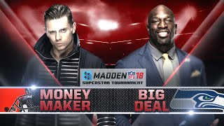 Madden 18 Tournament Rd. 1: THE MIZ vs. TITUS O'NEIL - Gamer Gauntlet