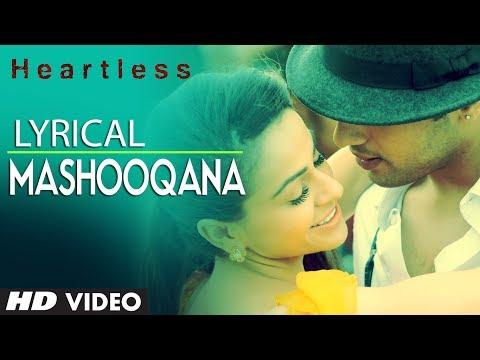 Heartless Mashooqana Lyric Video   Adhyayan Suman, Ariana Ayam