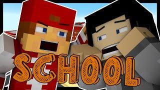 Minecraft School: FIRST DAY! [1]   Roleplay Adventure