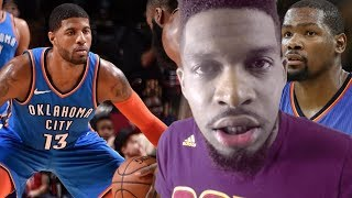 PAUL GEORGE IS MVP & BETTER THAN DURANT EVER WAS IN OKC! THUNDER vs ROCKETS HIGHLIGHTS