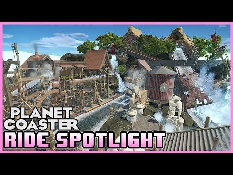 Lockjaw's Secret Discovery! - Ride Spotlight 04 #PlanetCoaster