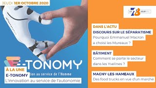 7/8 Le journal. Edition du 1er octobre 2020