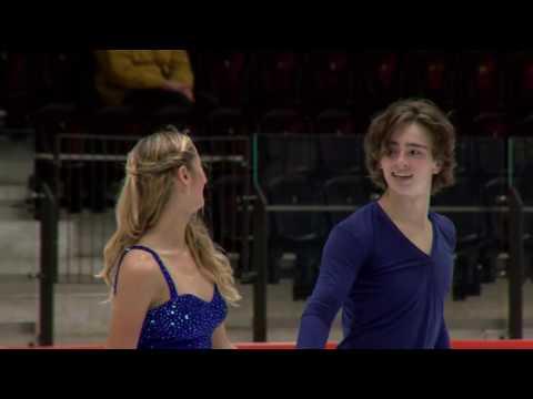 2016 ISU Junior Grand Prix - Tallinn - Free Dance - Chloe LEWIS / Logan BYE USA