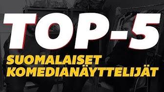 Korroosio - Paneeli 1 (Top-5 suomalaiset komedianäyttelijät)