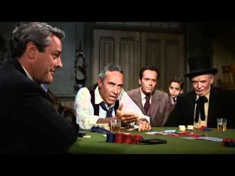 A Cool Scene From An Old Movie With Great Stars About Poker