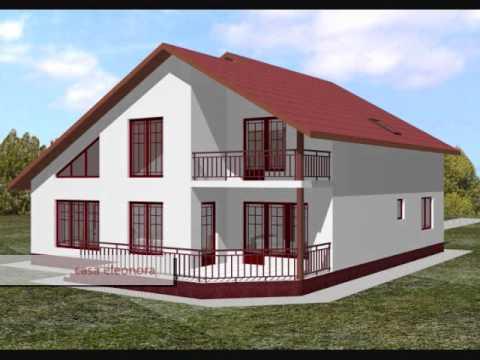 Proiecte case cu mansarda sphera construct youtube for Case cu etaj