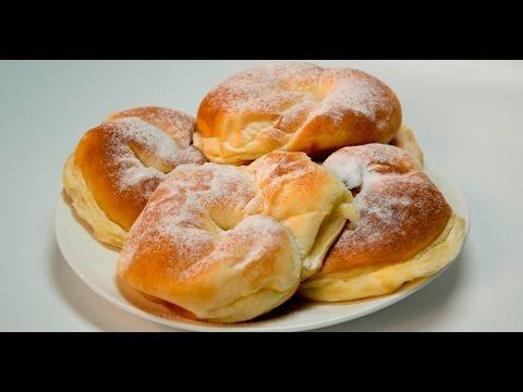 Испанские булочки с заварным кремом | Теле-теле-тесто
