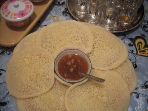 Moroccan baghrir (the recipe like all artists)