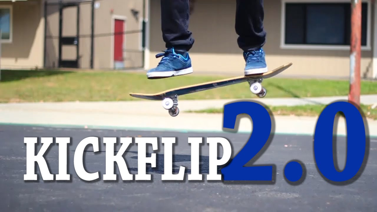 HOW TO KICKFLIP THE EASIEST WAY TUTORIAL 20