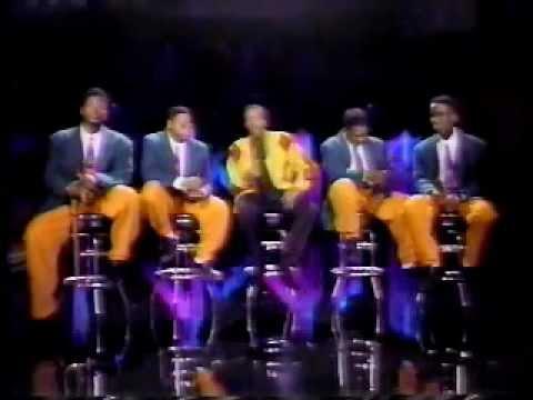 Boyz II Men - Uhh Ahh and Please Don't Go - Arsenio Hall 1991