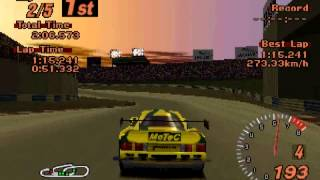 Gran Turismo 2 - Lister Storm V12 (Red Rock Valley Speedway)