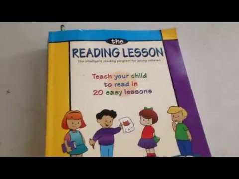 THE READING LESSON: TEACH YOUR CHILD TO READ IN 20 EASY LESSONS!!
