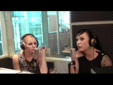 PMMP interview at Radio Helsinki 2010 Part 1