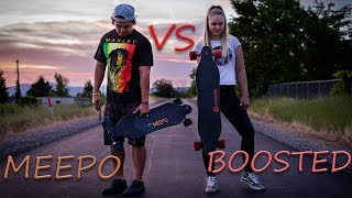 Meepo V2 VS Boosted Board!!