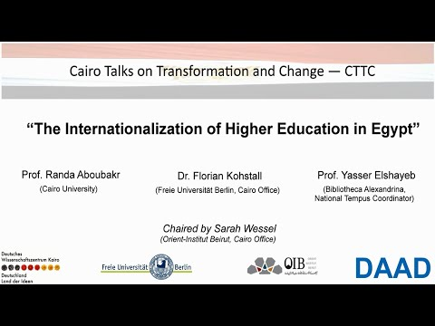 CTTC, The Internationalization of Higher Education in Egypt