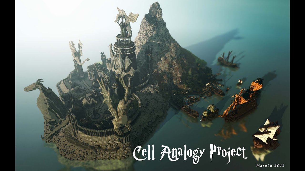 Cell analogy project castle youtube publicscrutiny Images