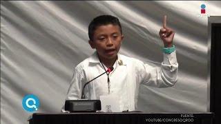 El niño que puso en vergüenza a los diputados | QUÉ IMPORTA