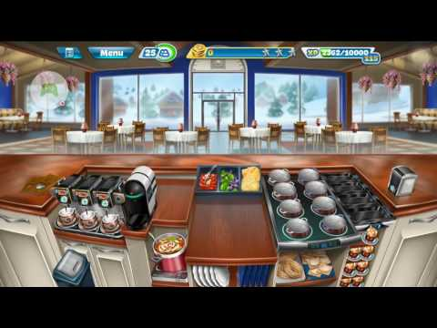 Save Gameplay Cooking Fever Italian Buffet Full Update Level 40 Snapshots