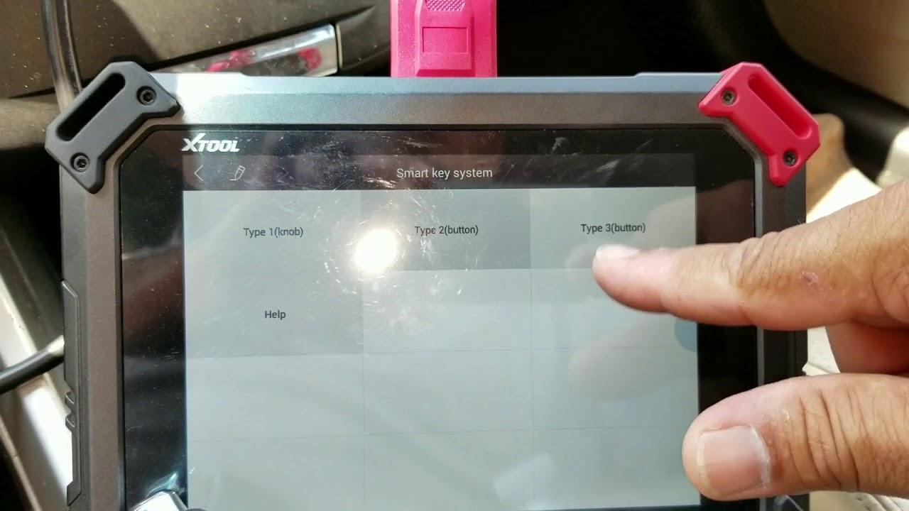 2013 Honda Accord smart key fob program