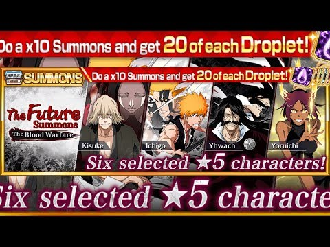 Bleach Brave Souls: SUMMONS SE BRILHAR VAI DAR BOM!!! The Future Summons!!! - Omega Play