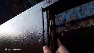 видео двери в подъезд металлические