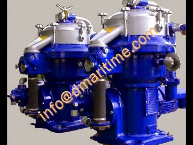 Alfa Laval solid Bowl centrifuge, industrial centrifuge, oil purifier, oil separator