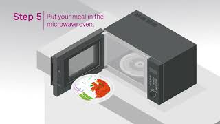 How to quickstart your Bosch Microwave Oven