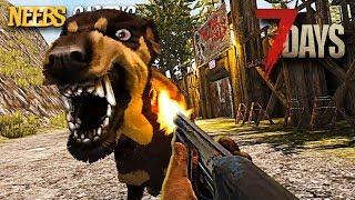 7 Days to Die - ZOMBIE DOG!